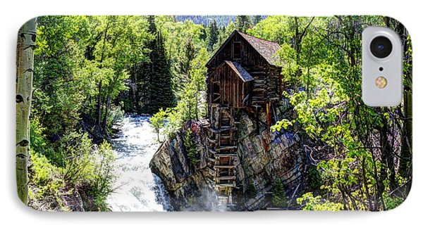 Crystal Mill IPhone Case by Jean Hutchison