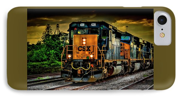 Csx 4226 IPhone Case by Marvin Spates
