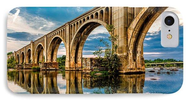 Csx A Line Bridge IPhone Case by Tim Wilson