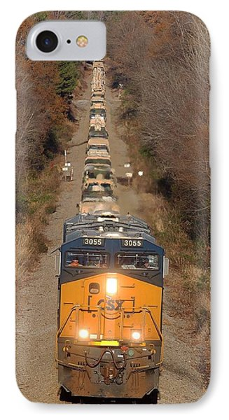 Csx Military Train IPhone Case