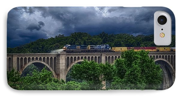 Csx Train Trestle IPhone Case by Melissa Messick
