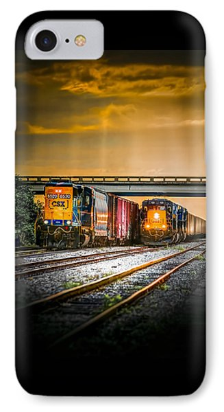 Csx Two For One IPhone Case by Marvin Spates