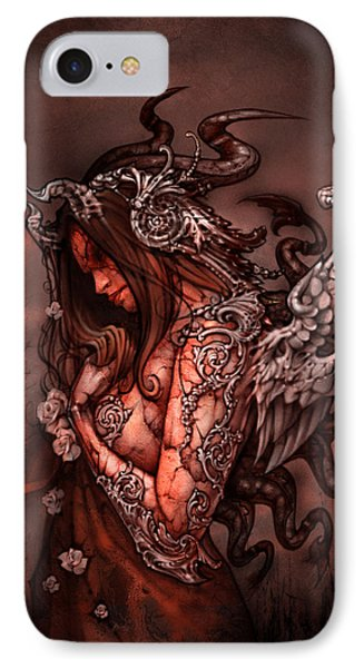Cthluhu Princess IPhone Case by David Bollt
