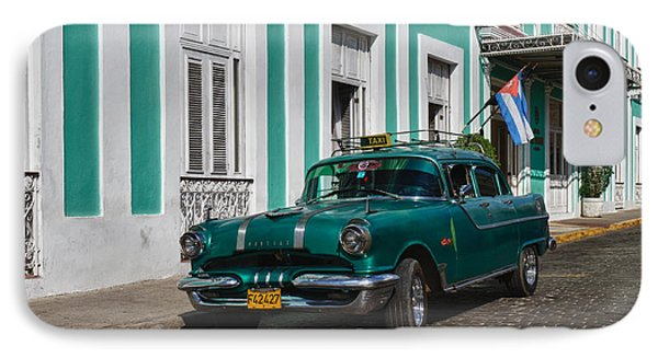 Cuba Cars II IPhone Case by Juergen Klust