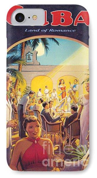 Cuba-land Of Romance IPhone Case by Nostalgic Prints