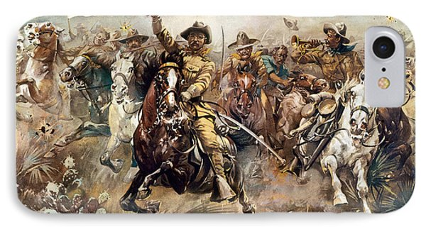 Cuba: Rough Riders, 1898 IPhone Case