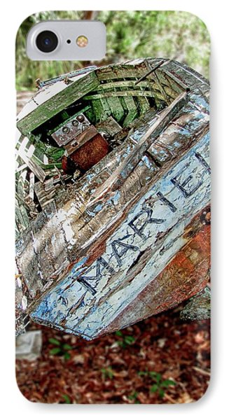 Cuban Refugee Boat 3 The Mariel IPhone Case
