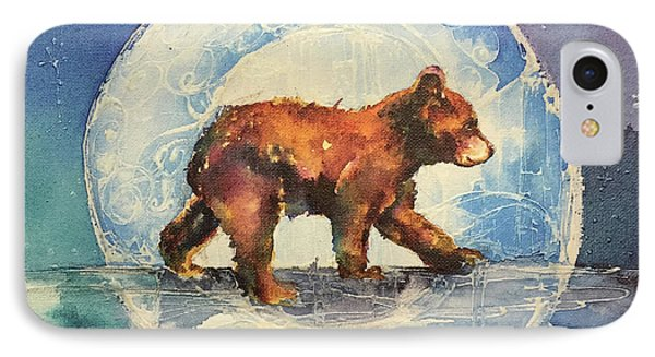 IPhone Case featuring the painting Cubbie Bear by Christy Freeman