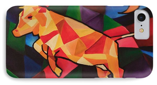 Cubism Cow IPhone Case