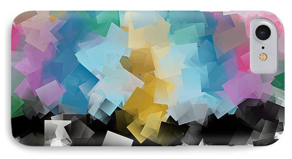 Cubism Tn 001 By Taikan IPhone Case