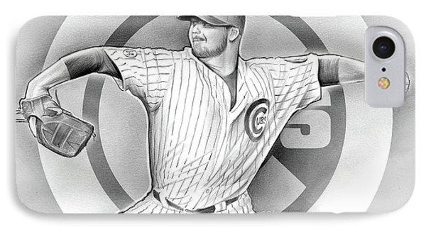 Cubs 2016 IPhone 7 Case by Greg Joens
