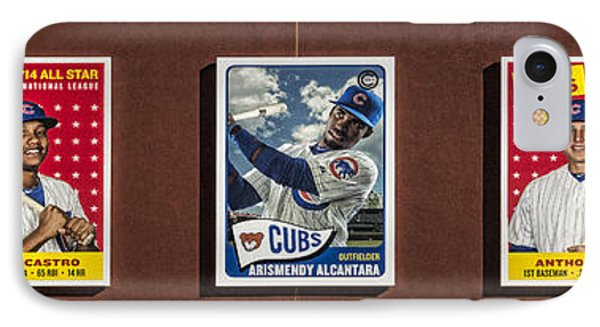 Cubs Card Collection IPhone Case