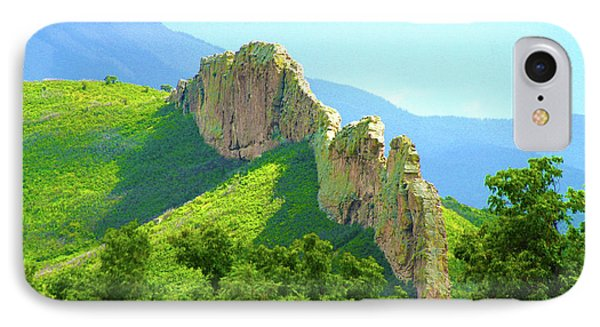 IPhone Case featuring the photograph Cuchara Ridge by Marie Leslie