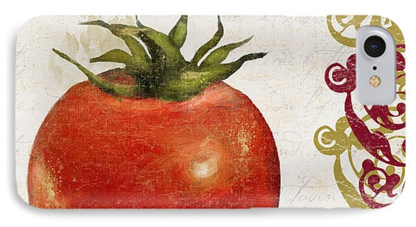 Cucina Italiana Tomato Pomodoro IPhone Case by Mindy Sommers