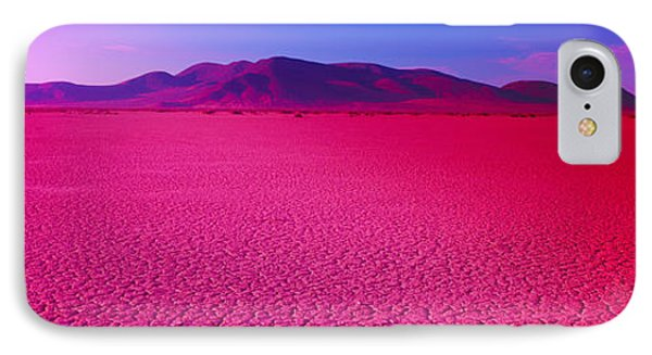 Cuddeback Dry Lake, Mojave Desert IPhone Case by Panoramic Images