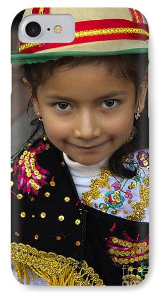 Cuenca Kids 694 IPhone Case by Al Bourassa