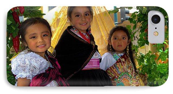 Cuenca Kids 860 IPhone Case by Al Bourassa