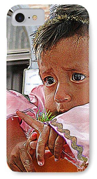 Cuenca Kids 881 Phone Case by Al Bourassa
