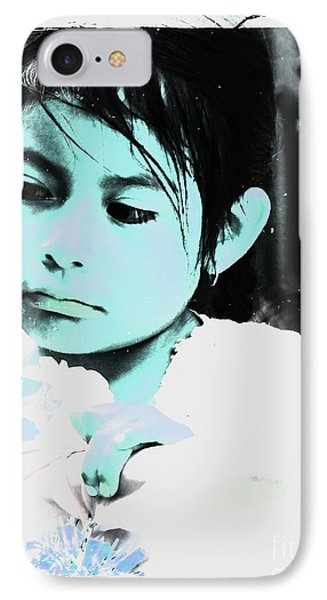 IPhone Case featuring the photograph Cuenca Kids 886 by Al Bourassa