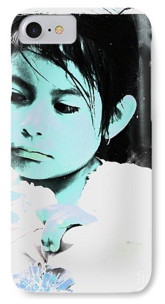 Cuenca Kids 886 IPhone Case by Al Bourassa