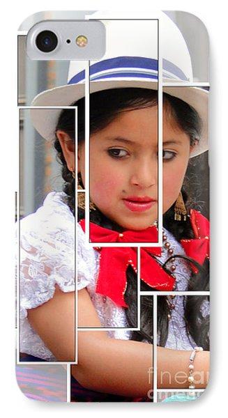 Cuenca Kids 890 Phone Case by Al Bourassa