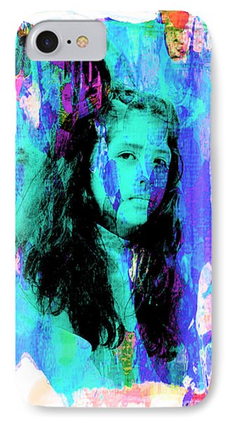 IPhone Case featuring the photograph Cuenca Kids 892 by Al Bourassa