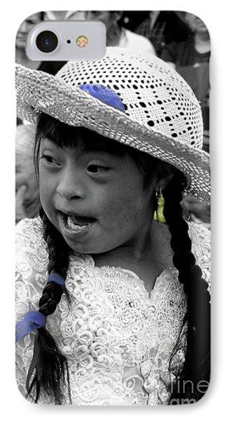 Cuenca Kids 904 IPhone Case by Al Bourassa