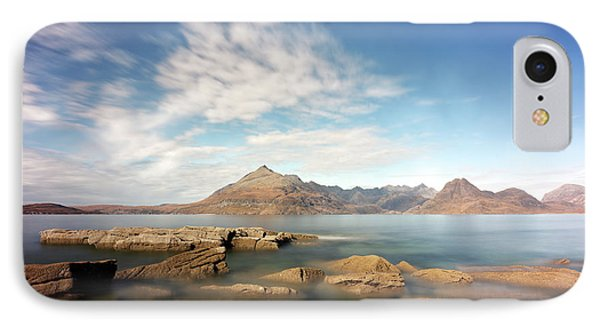IPhone Case featuring the photograph Cuillin Mountain Range by Grant Glendinning