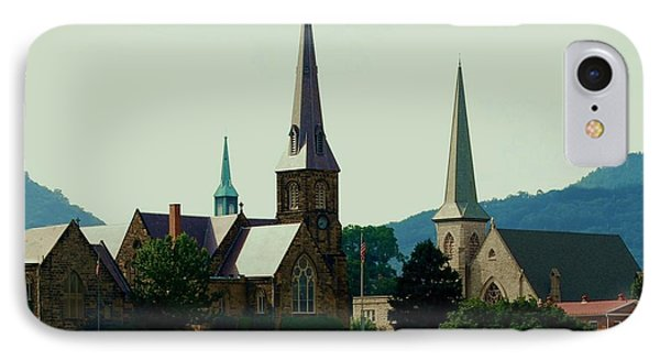 Cumberands Steeples IPhone Case by Eric Liller
