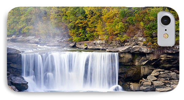 Cumberland Falls IPhone Case by Alexey Stiop