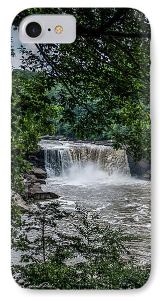 IPhone Case featuring the photograph Cumberland Falls by Joann Copeland-Paul