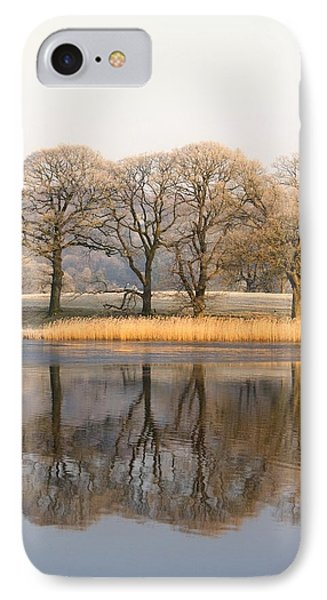 Cumbria, England Lake Scenic With Phone Case by John Short
