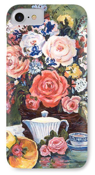 Cup And Saucer IPhone Case by Alexandra Maria Ethlyn Cheshire