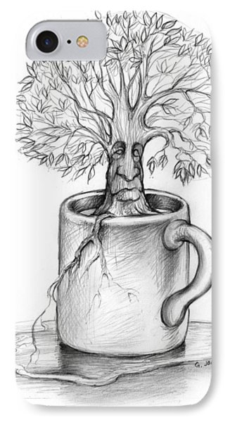 Cup-o-tree IPhone Case by Greg Joens