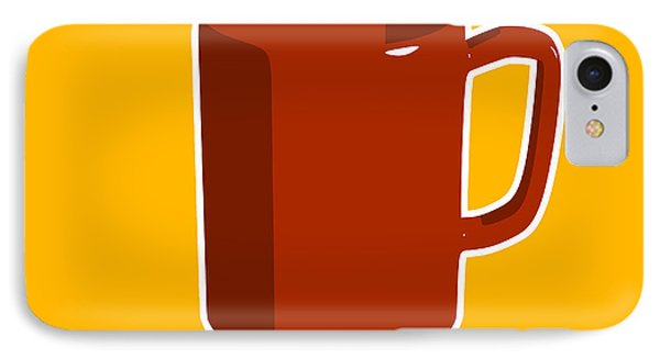Cup Of Coffee Graphic Image Phone Case by Pixel Chimp