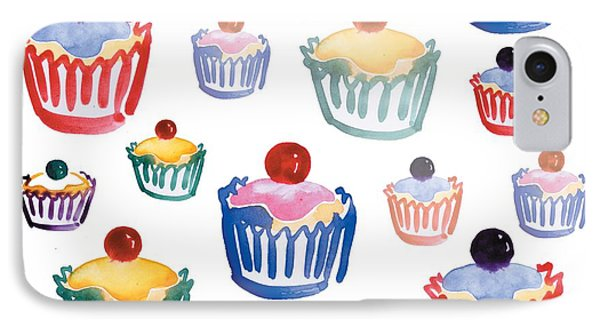 Cupcake Crazy IPhone Case by Sarah Hough