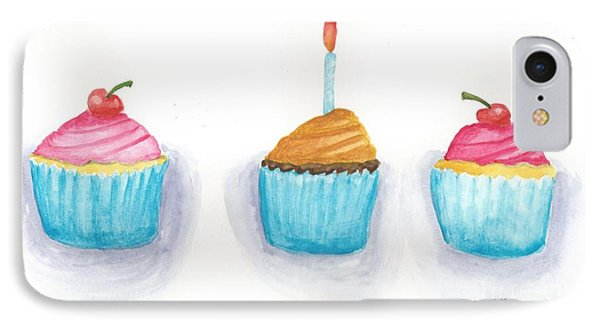 Cupcakes?  Phone Case by Isabel Proffit