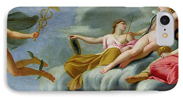 Cupid Orders Mercury To Announce The Power Of Love To The Universe IPhone Case