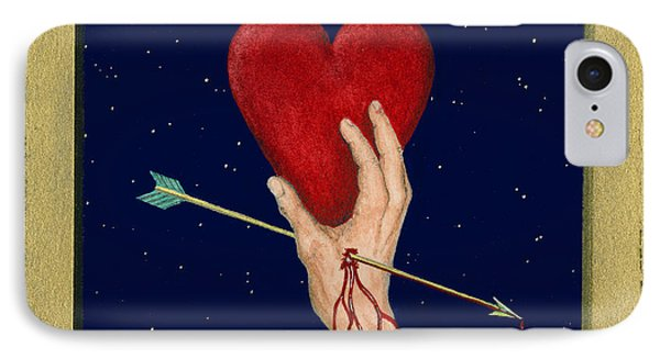Cupids Arrow Phone Case by Charles Harden