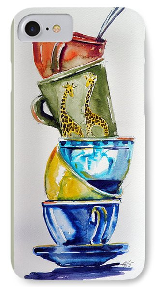 Cups IPhone Case by Kovacs Anna Brigitta