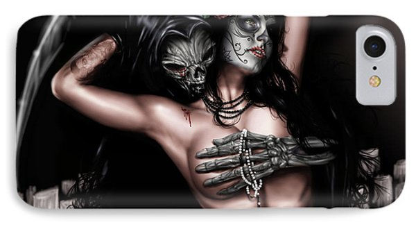 Cure My Tragedy IPhone Case by Pete Tapang