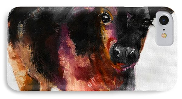 Buster The Calf Painting IPhone Case