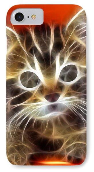 Curious Kitten Phone Case by Pamela Johnson