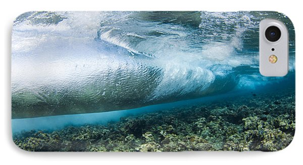 Curl Of Wave From Underwater Phone Case by Dave Fleetham - Printscapes