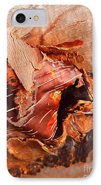 Curled Bark Phone Case by Tara Turner