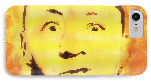 Curly Howard Three Stooges Pop Art IPhone Case