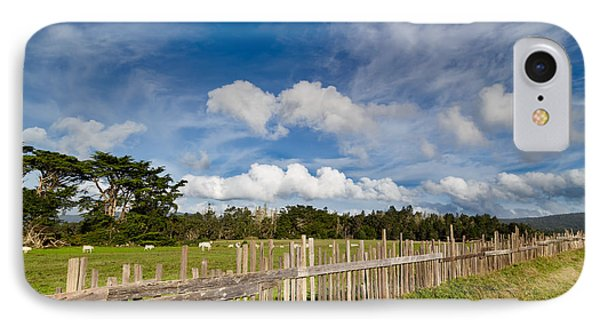 Curly Lane Cattle Fence IPhone Case
