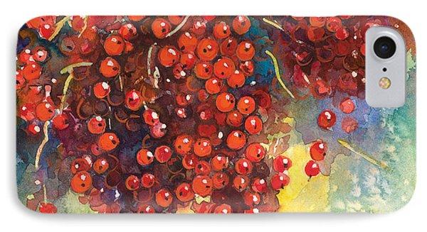 Currants Berries Painting Phone Case by Svetlana Novikova