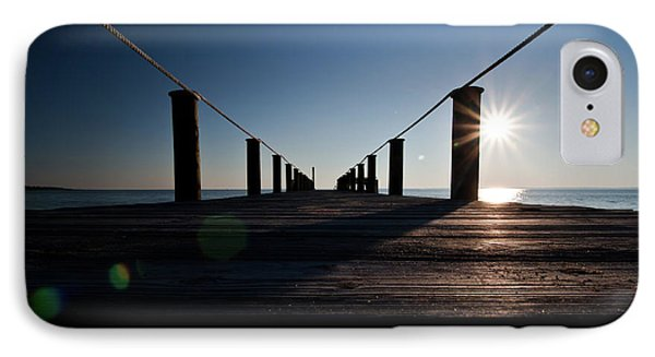 Currituck Sunset IPhone Case by David Sutton