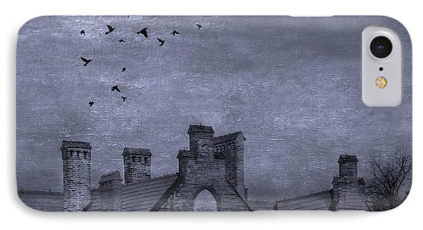 Curse Of Manor House IPhone Case by Juli Scalzi